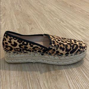 Steve Maden Cheetah platform sneakers